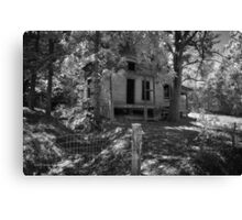 Delapidated Cabin Canvas Print