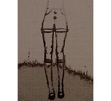 Boney Knees Photographic Print
