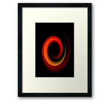 Hanging In The Balance Framed Print
