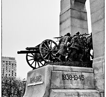 National War Memorial - Ottawa by Yannik Hay