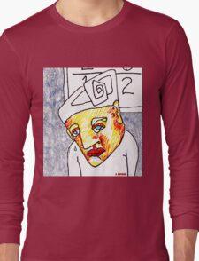 Crying Boy Long Sleeve T-Shirt