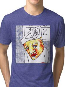 Crying Boy Tri-blend T-Shirt
