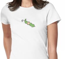 Baby Girl Pea in a Pod Womens Fitted T-Shirt