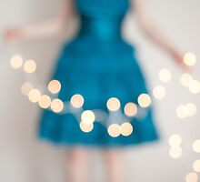 Girl in a Blue Dress No. 4 by AineKendall