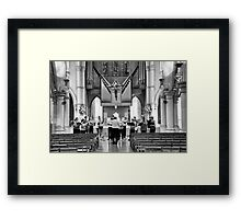 Choir Practice Framed Print