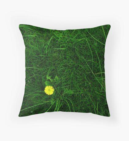 A Spot of Sunshine Throw Pillow