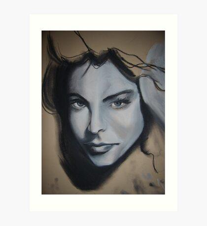 girls face Art Print