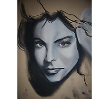 girls face Photographic Print