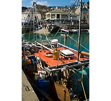 Padstow Harbour Photographic Print