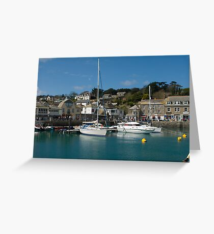 Padstow Harbour II Greeting Card