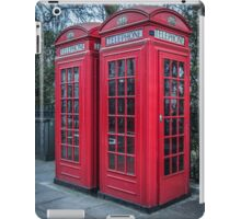 Classic London Telephone Booths iPad Case/Skin