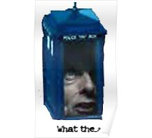 dr who what the... ? Poster