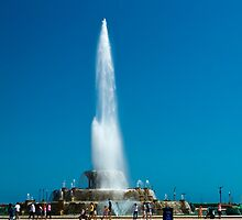 The Clarence Buckingham memorial fountain, Grant Park, Chicago, Illinois, USA. by PhotoStock-Isra