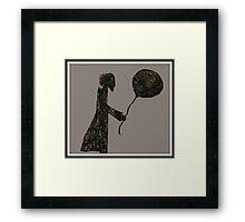 Balloons at Baker Street Framed Print