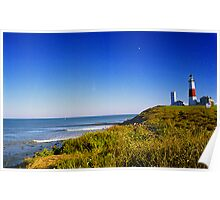 Montauk Point Lighthouse, NY Poster