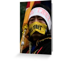 Protest Greeting Card