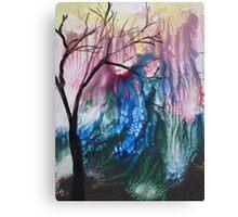 Tree Loving Abstract Canvas Print