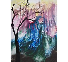 Tree Loving Abstract Photographic Print