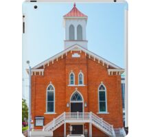 The Dexter avenue King Memorial Baptist church, where Martin Luther King Jr. worked, Montgomery, AL, USA iPad Case/Skin