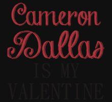 CAMERON DALLAS IS MY VALENTINE Kids Clothes