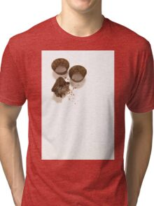 baking concept on white background Tri-blend T-Shirt