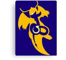 Dratini - Dragonair - Dragonite Canvas Print
