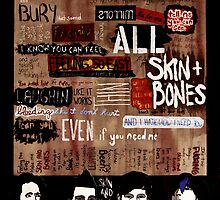 Marianas Trench Skin and Bones by Jay Heida