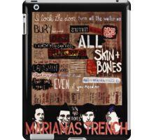 Marianas Trench Skin and Bones iPad Case/Skin