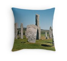 Callanish 4 Throw Pillow