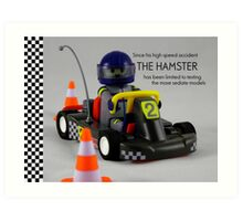The Hamster Art Print