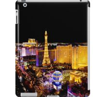 The Strip, at night Las Vegas, Nevada, USA iPad Case/Skin