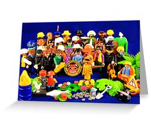 Pepper Playmobil Style Greeting Card