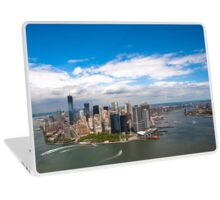 Aerial view of Manhattan, New York City, NY USA  Laptop Skin