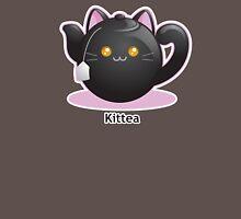 Cute Tea Pot Cat: Kittea Womens Fitted T-Shirt