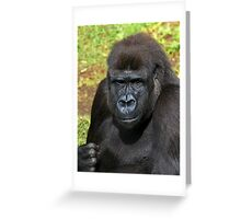 Keep it up and i will give you one. Greeting Card