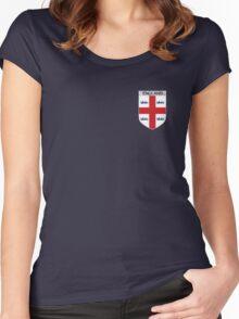 ENGLAND EMBLEM Women's Fitted Scoop T-Shirt