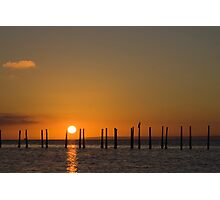 Solent Sunrise Photographic Print