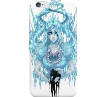 The Ice Queen (white) iPhone Case/Skin