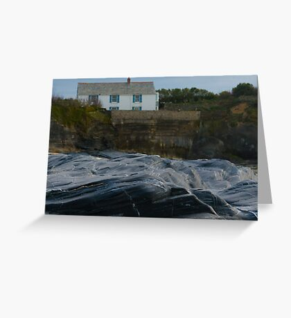 Sea Sculpture Greeting Card