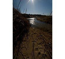 Through Golden Sands Photographic Print