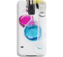 Chemical flasks in Industrial Chemistry Laboratory Samsung Galaxy Case/Skin