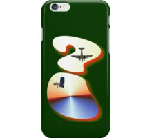 Question Mark - DC-3 & Parachutist iPhone Case/Skin