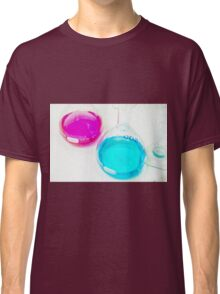 Chemical flasks in Industrial Chemistry Laboratory Classic T-Shirt