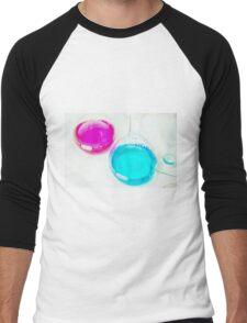 Chemical flasks in Industrial Chemistry Laboratory Men's Baseball ¾ T-Shirt