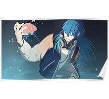 Dramatical Murder: Jerry Blaine Sly Blue Poster