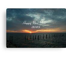 Happy 2015....... Canvas Print