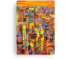 Sunset City Canvas Print