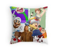2014: A Year in Review Throw Pillow