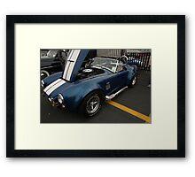 a/c shelby cobra Framed Print
