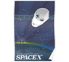 Your Cargo to Orbit with SpaceX Poster